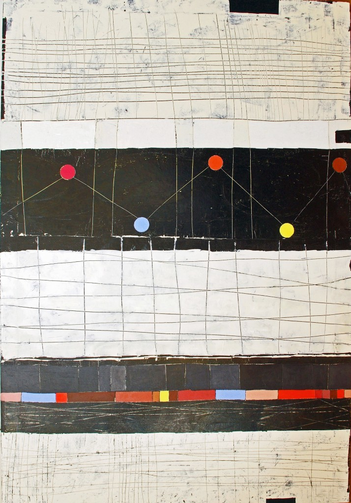desired constellation 132x90cm