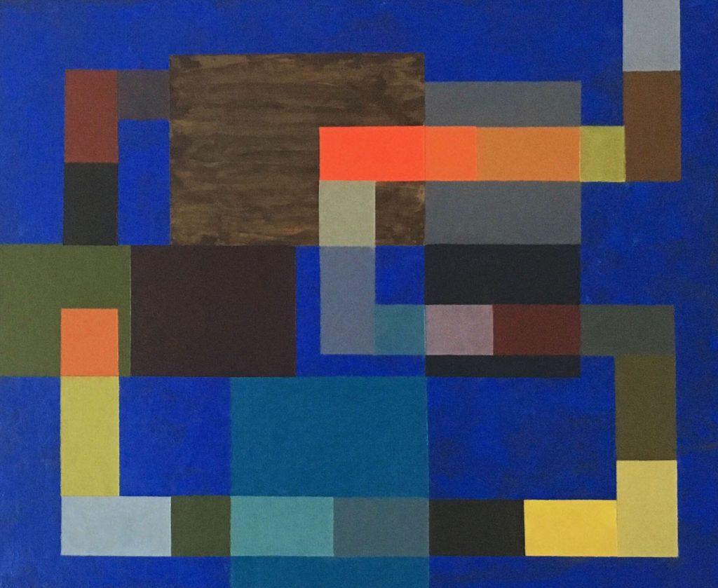 klein blue 44x38cm
